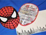 Spiderman Birthday Invites the Party Wall Sneak Peek Spiderman Party Invitations