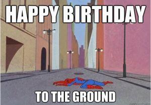 Spiderman Birthday Memes Happy Birthday Memes with Spiderman Hd