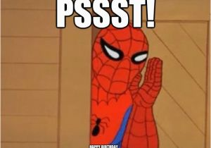 Spiderman Birthday Memes Spider Man Happy Birthday Quotes Quotesgram