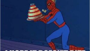 Spiderman Birthday Memes Superhero Birthday Memes Wishesgreeting