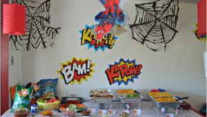 Spiderman Birthday Party Decorating Ideas 15 Amazing Spiderman Birthday Party Ideas for Take Away