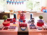 Spiderman Birthday Party Decorating Ideas Kara 39 S Party Ideas Spiderman Party with Such Cute Ideas