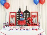 Spiderman Decorations for Birthday Party 21 Spiderman Birthday Party Ideas Pretty My Party