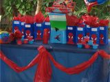 Spiderman Decorations for Birthday Party 37 Cute Spiderman Birthday Party Ideas Table Decorating