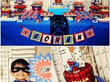 Spiderman Decorations for Birthday Party Boys Party Ideas A Spiderman Inspired Super Hero