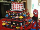Spiderman Decorations for Birthday Party Kids Birthday Party theme Decoration Ideas Interior