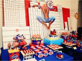 Spiderman Decorations for Birthday Party the Party Wall Spiderman Birthday Party Part 1 2 as