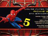 Spiderman Photo Birthday Invitations Spiderman Invitations General Prints
