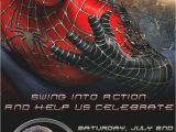 Spiderman Photo Birthday Invitations Spiderman Personalized Birthday Party Invitation
