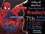 Spiderman Photo Birthday Invitations Spiderman Photo Birthday Invitations Best Party Ideas