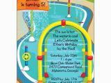 Splash Pad Birthday Invitations Splash Pad Pool Party Invitations Paperstyle