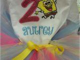 Spongebob Birthday Girl Outfit Items Similar to Spongebob Birthday Outfit On Etsy
