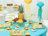 Spongebob Birthday Party Decorations Spongebob Squarepants Birthday Party Children 39 S Parties