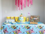 Spongebob Birthday Party Decorations Spongebob Squarepants Birthday Party Inspiration Made Simple