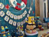 Spongebob Squarepants Birthday Decorations 19 Spongebob Party Ideas Spaceships and Laser Beams