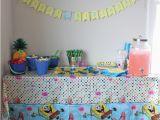 Spongebob Squarepants Birthday Decorations Spongebob Squarepants Birthday Party Inspiration Made Simple