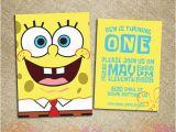 Spongebob Squarepants Birthday Invitations 40th Birthday Ideas Birthday Invitation Maker Spongebob