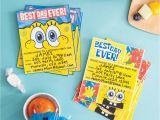 Spongebob Squarepants Birthday Invitations Plan A Spongebob Squarepants Party Nickelodeon Parents