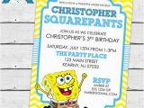 Spongebob Squarepants Birthday Invitations top 25 Ideas About Spongebob Squarepants Birthday Ideas On
