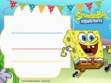 Spongebob Squarepants Printable Birthday Invitations Free Free Spongebob Birthday Invitation Template Free