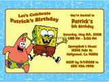 Spongebob Squarepants Printable Birthday Invitations Free Spongebob Squarepants Invitations General Prints