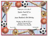 Sport Birthday Invitations Birthday Invites Free Download Sports Birthday