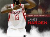 Sports Birthday Memes Mrockets Happy 26th Birthday James Harden Br Happy