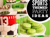 Sports themed Birthday Party Decorations All Star Sports Boy Birthday Party Spaceships and Laser