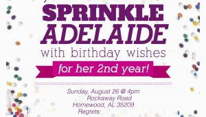 Sprinkle Birthday Invitations Sprinkle Party Invitations Oxsvitation Com