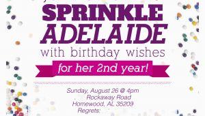 Sprinkle Birthday Invitations Sprinkle Party Invitations Oxsvitation Com