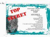 Spy Birthday Party Invitation Template Free 6 Innovative Spy Party Invitations Printable Free Braesd Com