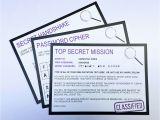 Spy Birthday Party Invitation Template Free Secret Agent Party Printables Invitations Decorations Spy