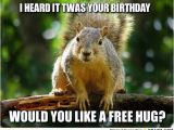 Squirrel Happy Birthday Meme Free Hugs Happy Birthday Sister Pinterest Free