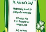 St Patrick S Day Birthday Invitations St Patrick 39 S Day Derby Invitation
