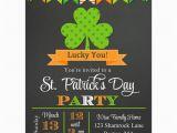 St Patrick S Day Birthday Invitations St Patrick 39 S Day Invitation Printable or Printed with