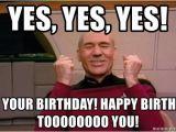 Star Trek Birthday Memes Yes Yes Yes It 39 S Your Birthday Happy Birthday