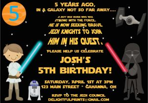 Star Wars Birthday Invitation Template Free Printable Party Invitations
