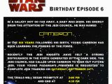 Star Wars Birthday Invitation Wording Star Wars Birthday Party Partial to Home