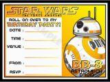 Star Wars Birthday Invitations Online 20 Invitation Template Free Sample