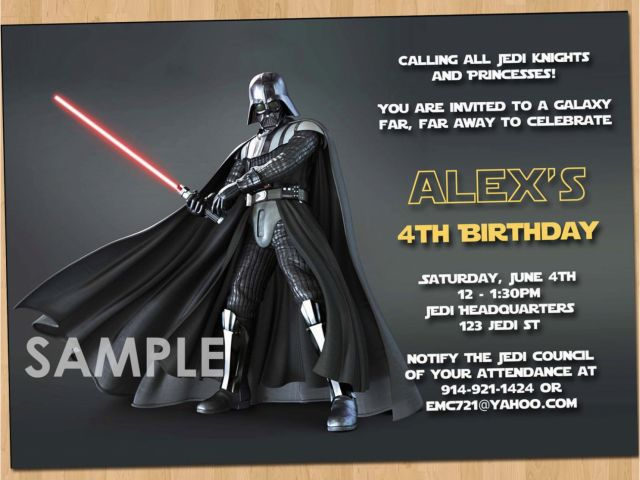 Download By SizeHandphone Tablet Desktop Original Size Back To Star Wars Birthday Invitations Online