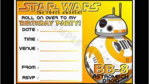 Star Wars Birthday Invitations Templates Free 20 Star Wars Birthday Invitation Template Free Sample