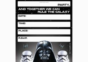 Star Wars Birthday Invitations Templates Free Lego Template Bagvania