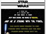 Star Wars Photo Birthday Invitations 25 Best Ideas About Star Wars Invitations On Pinterest
