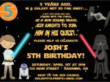 Star Wars Photo Birthday Invitations Star Wars Birthday Party Invitations Drevio Invitations