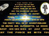 Star Wars Photo Birthday Invitations Star Wars Photo Invitations Personalized Party Invites