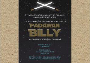 Star Wars Themed Birthday Party Invitations Invitation By