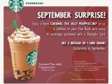 Starbucks.com Card Free Birthday Drink I Love Freebies Malaysia Promotions Gt Starbucks Free 2 Drinks