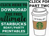 Starbucks.com Card Free Birthday Drink Starbucks Free Birthday Register Your Starbucks Card Your