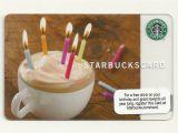 Starbucks.com Card Free Birthday Drink Starbucks Gift Card 2009 Happy Birthday New Unused Ebay