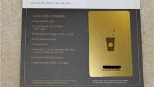 Starbucks Gold Card Birthday Reward Starbucks Gift Card Save Money On Each Purchase